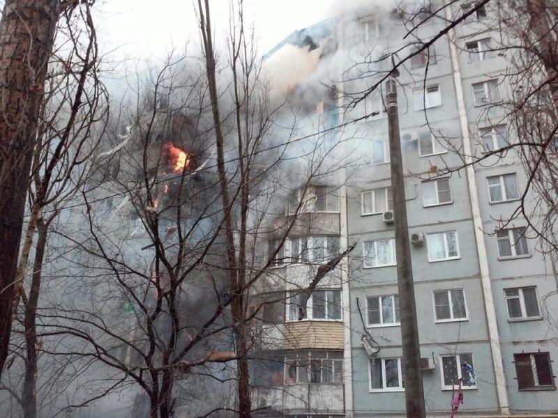 В Волгограде взорвалась жилая девятиэтажка: десятки пострадавших