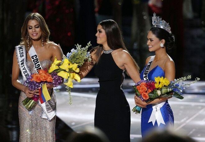 """Корона """"Мисс Вселенная 2015"""" со скандалом досталась филиппинке"""