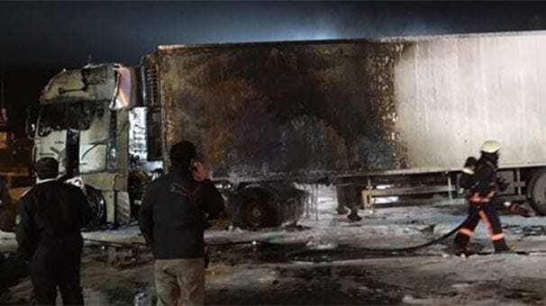 В Стамбуле взорвался грузовик с украинскими номерами