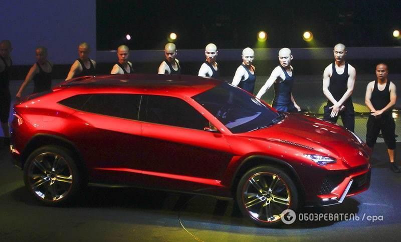 Найшвидший з биків: ЗМІ дізналися, що опиниться під капотом у Lamborghini Urus