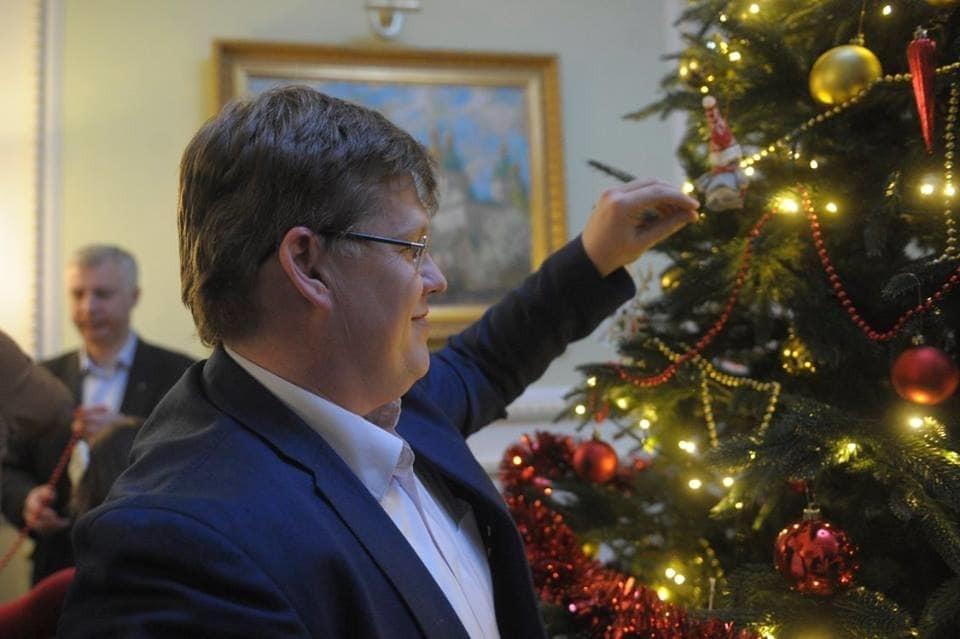 Министр поздравления с новым годом