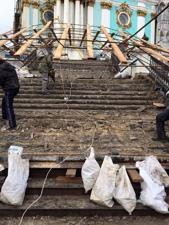 Як у Києві відреставрували Андріївську церкву: опубліковані фото