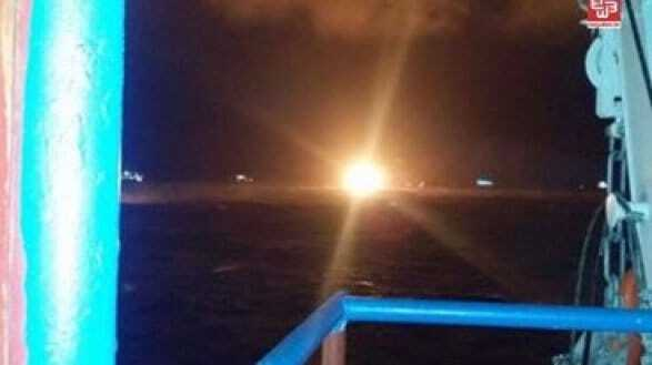 Пожежа на нафтовій платформі в Каспійському морі: 32 жертви