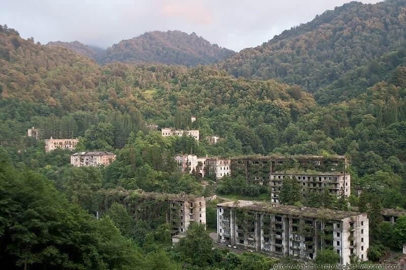 Покинуті міста-примари Абхазії
