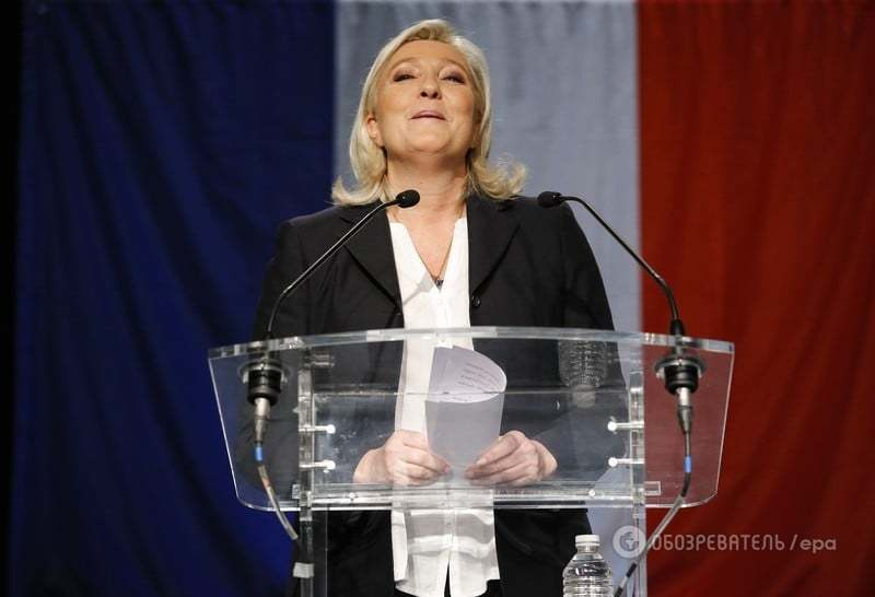 Рука Кремля: к власти во Франции прорвалась одиозная Марин Ле Пен