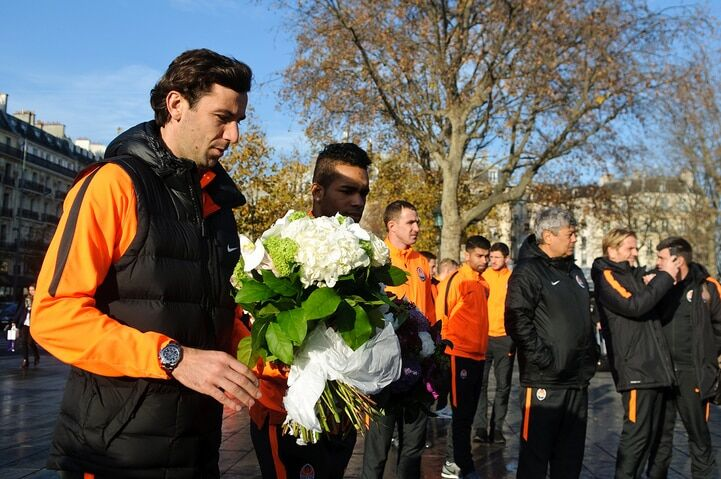 """Футболісти """"Шахтаря"""" зробили благородний вчинок перед матчем із ПСЖ"""