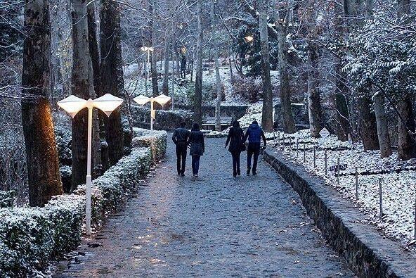 У спекотному Ірані випав сніг: фоторепортаж із засніжених вулиць
