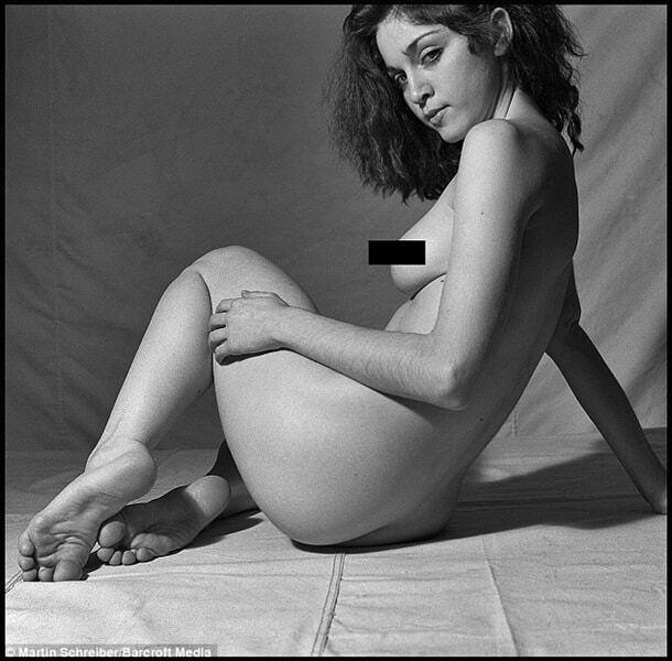 У мережу потрапили фото ню 20-річної Мадонни