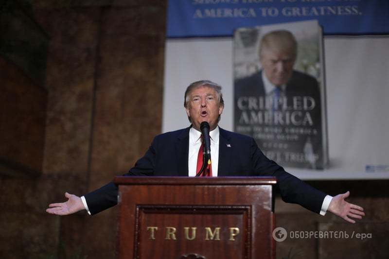 """Без тормозов: рейтинг """"перлов"""" кандидата в президенты США Дональда Трампа"""