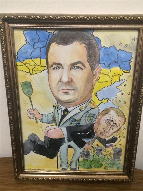 Полтораку на юбилей подарили торт с Путиным-уголовником: опубликованы фото