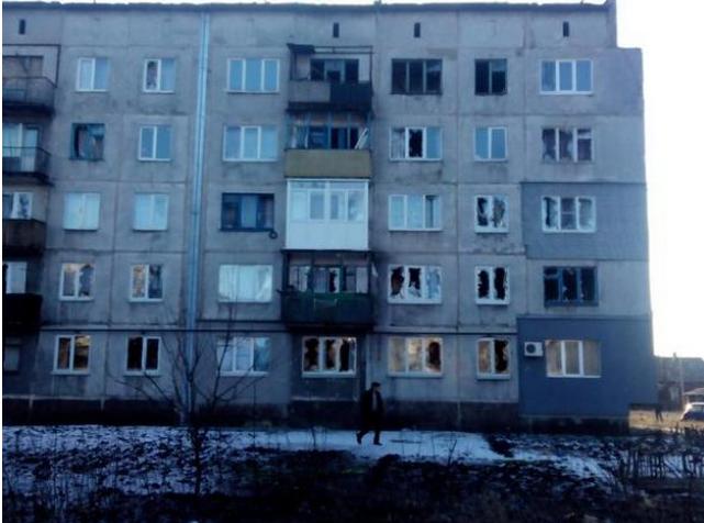 """Боевики ударили """"Градом"""" по детсаду в Горняке, погибли четверо: появились фото и видео"""