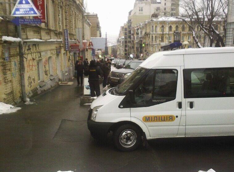 В Киеве произошло вооруженное нападение на банк