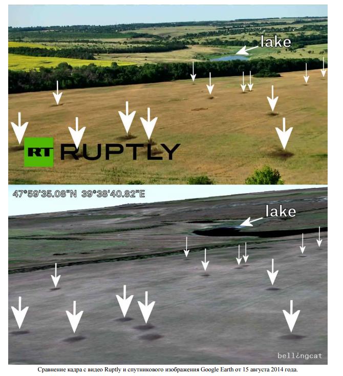 Британцы доказали, что Россия еще в июле активно обстреливала Украину: анализ спутниковых снимков