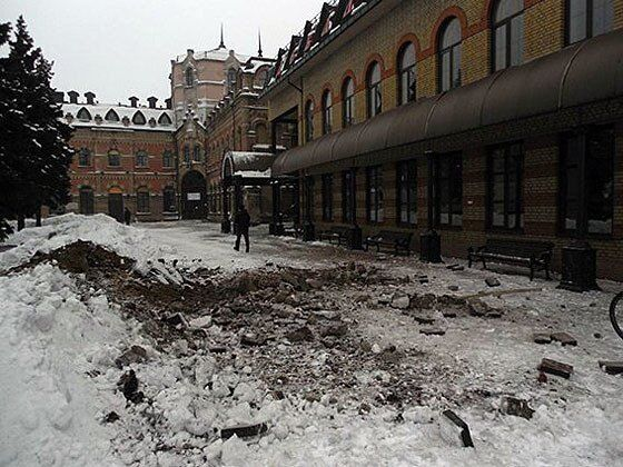 Боевики полностью уничтожили Дебальцевский железнодорожный узел