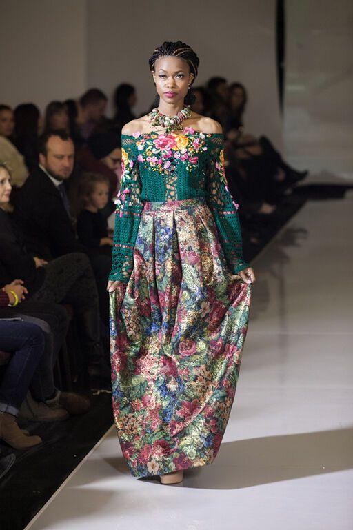 На тижні моди в Нью-Йорку українські дизайнери показали чорний Донбас
