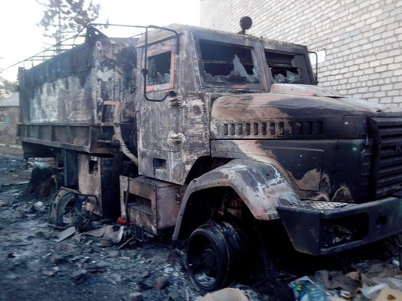 Украинские десантники отбили штурм боевиков возле Широкино: опубликованы фото