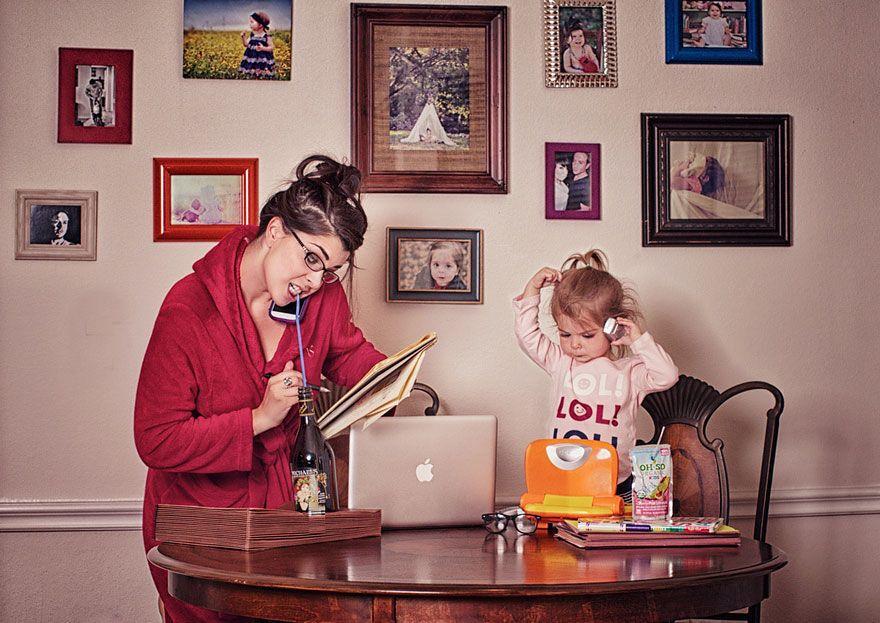 Мать и дочь прикольные картинки