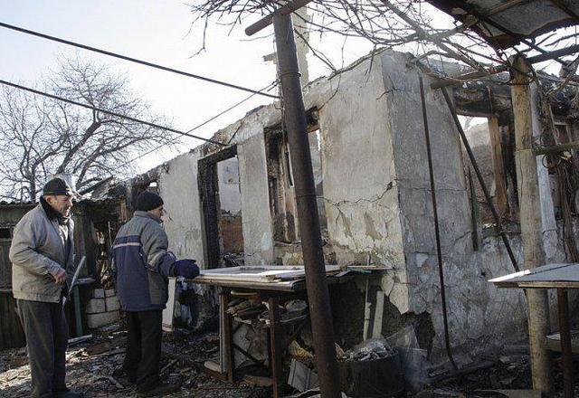 Дебальцево в оккупации террористов: фото из разрушенного города