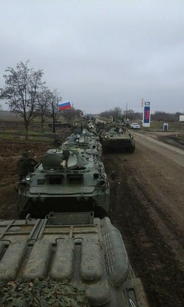Россия активно концентрирует силы на северо-восточной границе Украины и на южном направлении: новые фотофакты