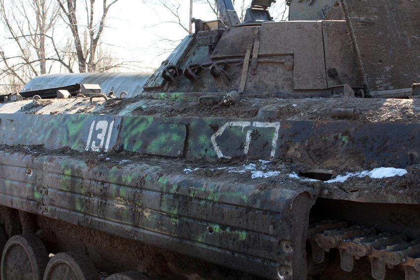 В штабе АТО показали, что делают с захваченными российскими танками и БМП: фото техники