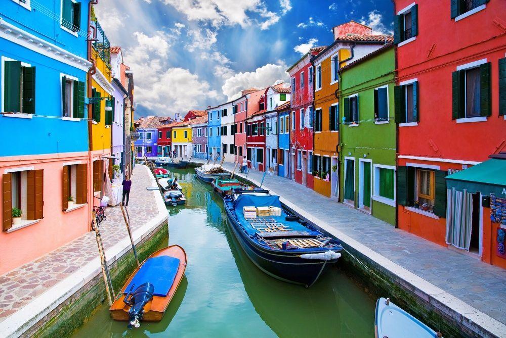 красочный город фото