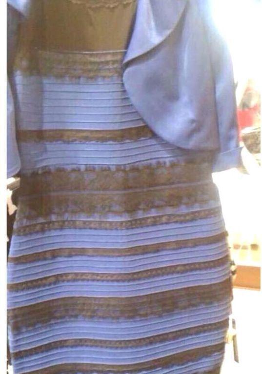 Платье, цвет которого люди видят по-разному, взорвало мозг интернет-пользователям по всему миру