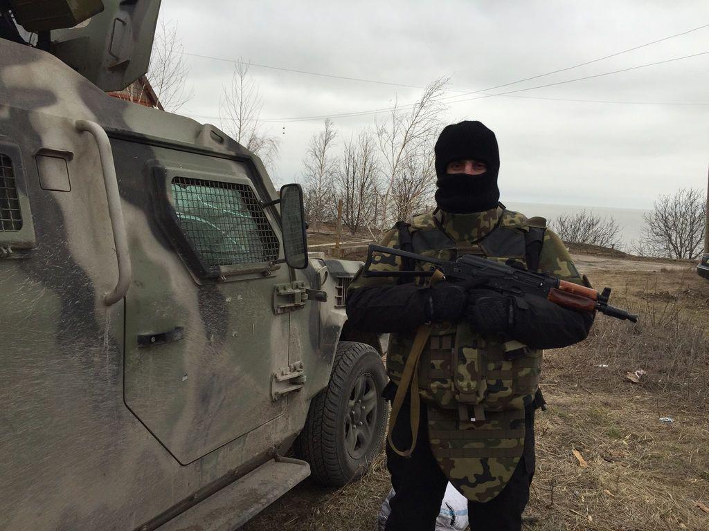 """В Широкино боевики продолжают """"кошмарить"""" силы АТО: фоторепортаж с передовой"""