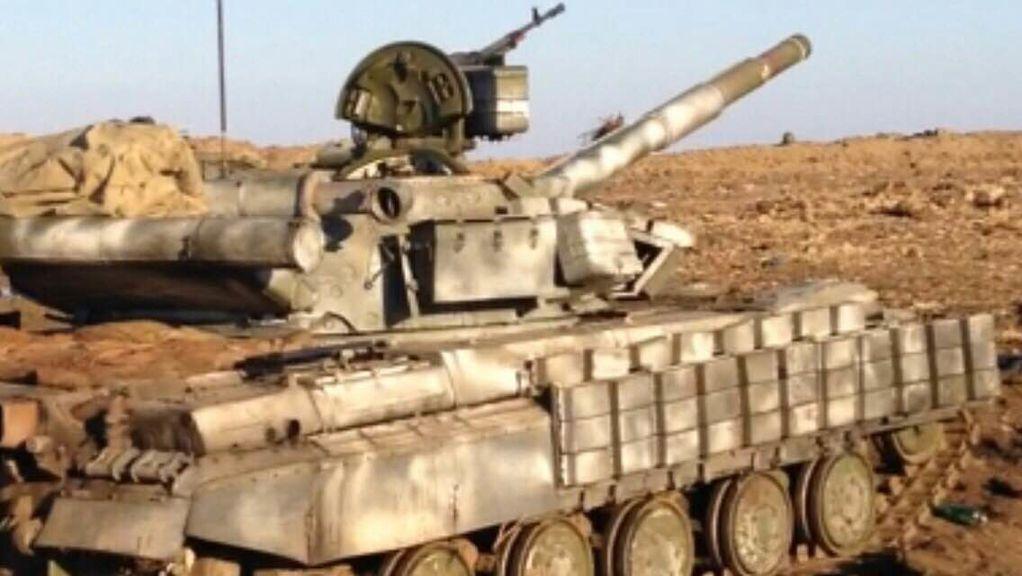 """Спецподразделение """"Тесла"""" вышло из-под Дебальцево, уничтожив российский танк: опубликовано фото и видео"""