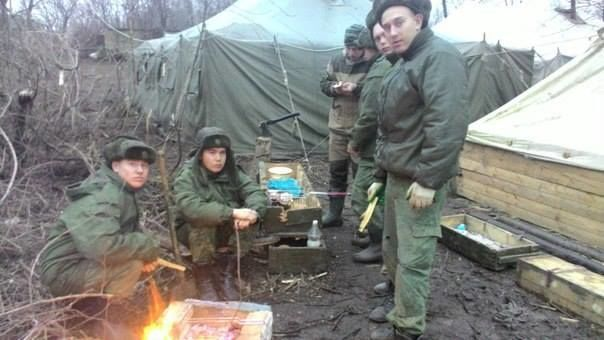 """На границе Украины """"потерялись"""" российские артиллеристы"""