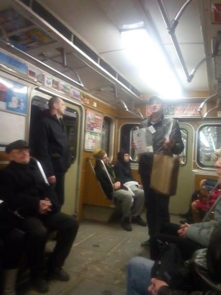 """В столичном метро разоблачили еще одного собирающего деньги на АТО """"волонтера"""""""