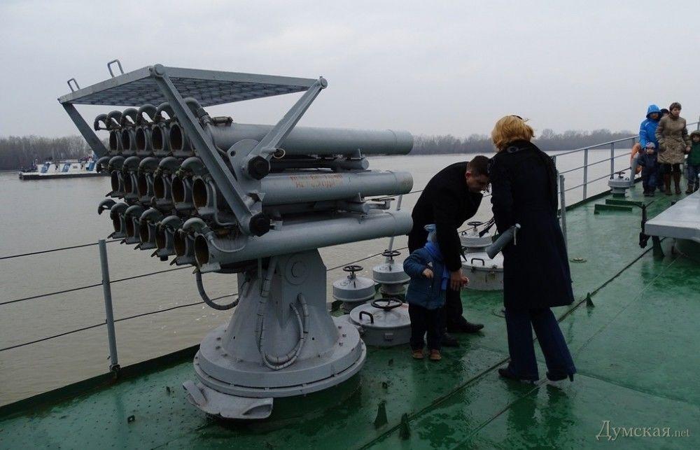 Под Одесской прошли учения ВМС