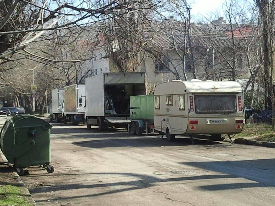 Разыскиваемый СБУ Пореченков снимается в Симферополе: фотофакт