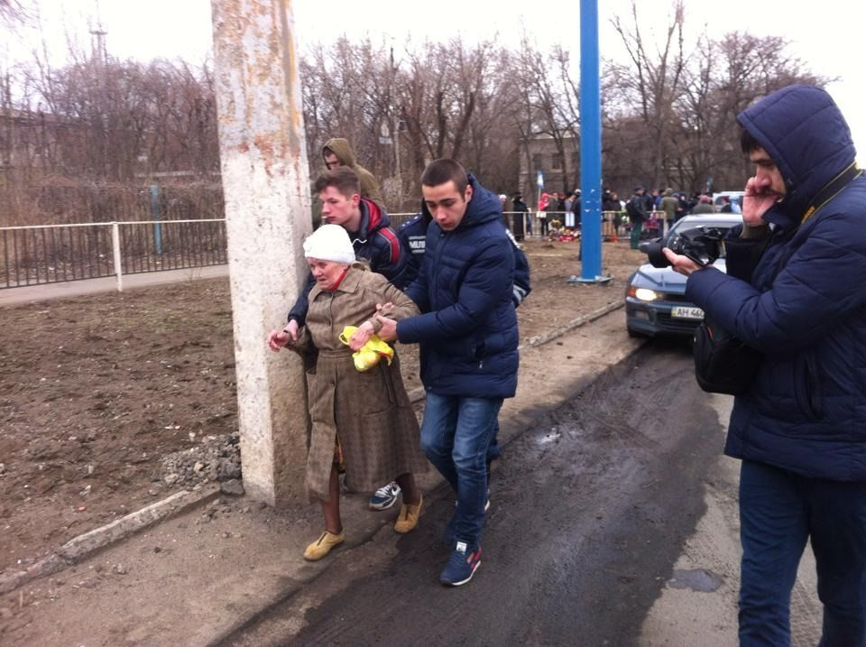 В Константиновке на месте аварии с БМД снова сбит человек