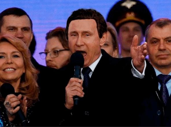 """""""С днем оккупанта!"""". Соцсети высмеяли празднование аннексии Крыма"""