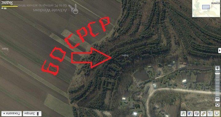 """На Прикарпатье сохранились надписи """"Ленин"""" и """"СССР"""", которые можно наблюдать из космоса. Фотофакт"""