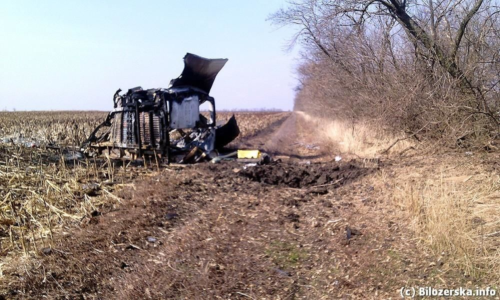 """""""Правый сектор"""" взорвал на Донетчине три авто с боевиками"""