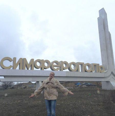 Волочкова развлеклась в Крыму с любимым байкером Путина