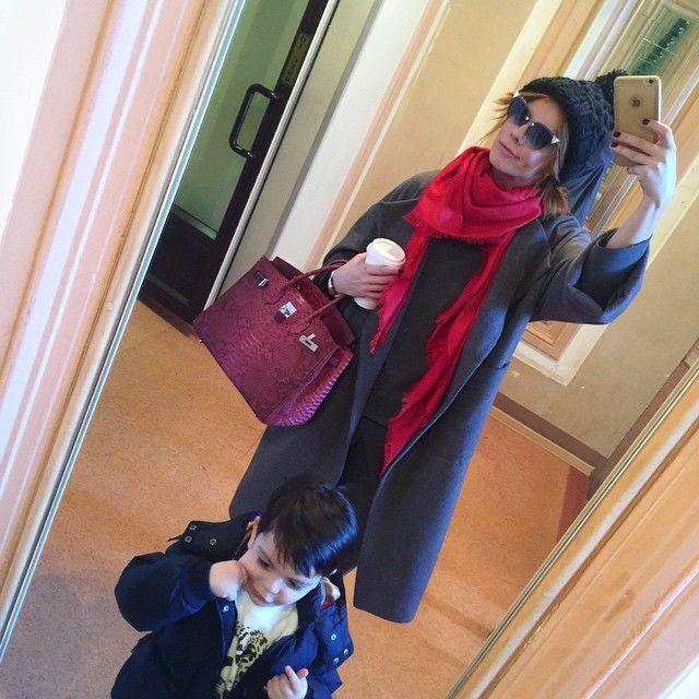 Анастасия Стоцкая показала филлипинскую няню своего сына