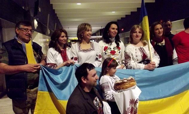 Сборная Украины получила в Испании неожиданный сюрприз