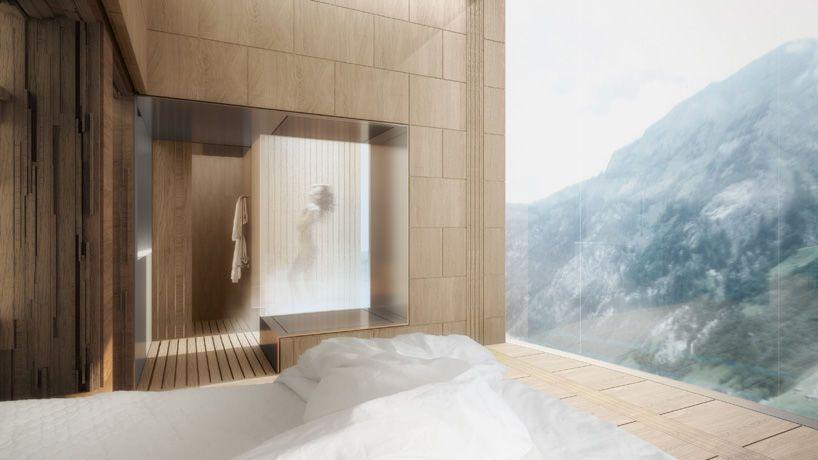 Самый высокий небоскреб Европы построят в Альпах: фото проекта