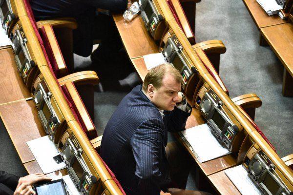 Левочкин и Фурсин пытались сорвать голосование в Раде: фотофакт