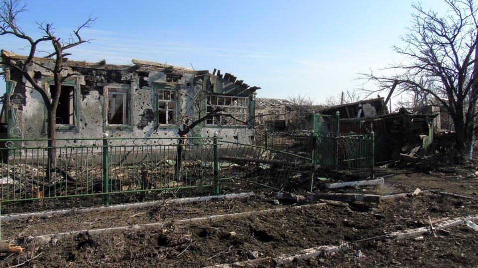 Апокалипсис в Никишино: в селе не осталось ни одного целого дома. Фоторепортаж