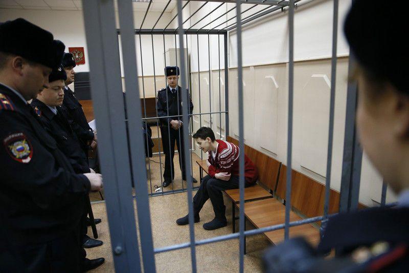 Московский суд отказался отпускать делегата ПАСЕ Савченко на сессию ассамблеи
