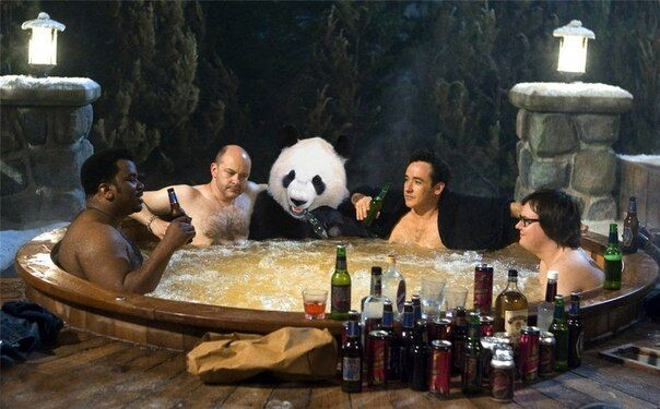 Научись расслабляться, как панда