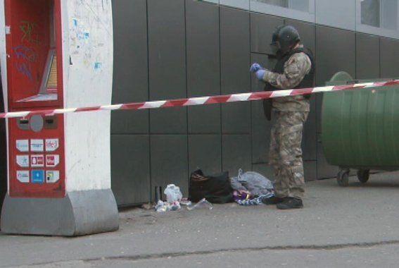 В центре Одессы обнаружили сумку со взрывчаткой: фото с места событий