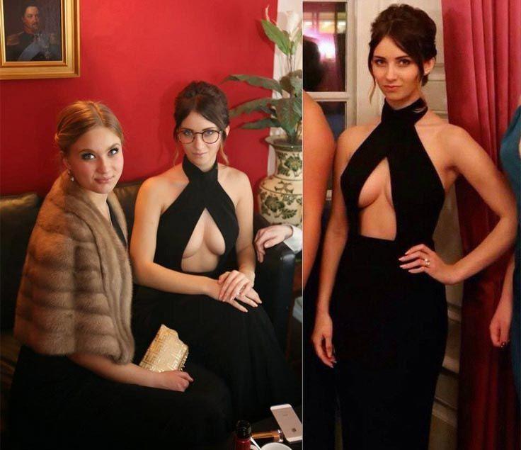 Политик из Дании взорвала интернет своим откровенным платьем