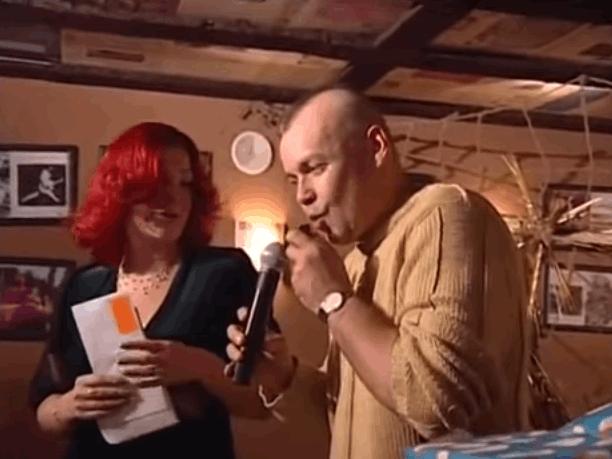 Киселев на заре своей карьеры веселил народ пошлыми шутками