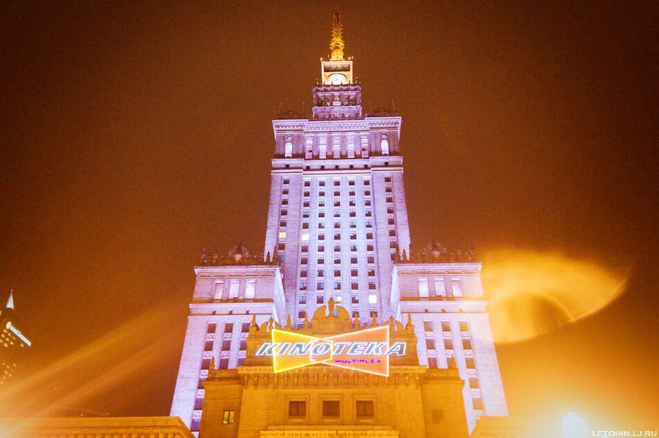 Пугающая Варшава