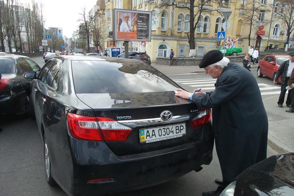 Екс-нардеп, який курирував роботу в Криму, влаштував ДТП на пішохідному переході в Києві