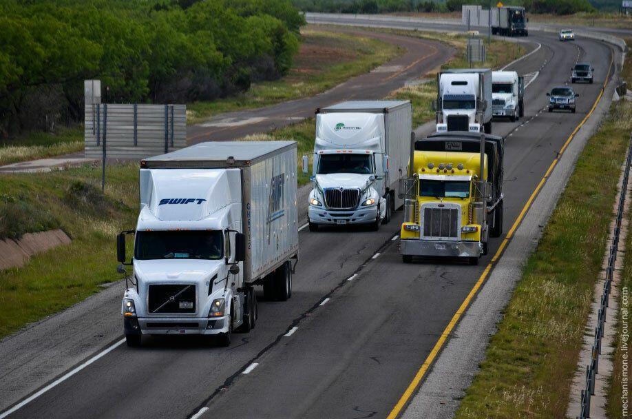 Рабочие будни американских дальнобойщиков